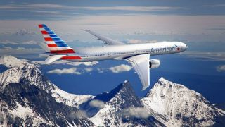 Neue American Airlines Bemalung