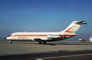 Itavia DC.9 I-TIGI