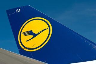 Lufthansa Boeing 747-8I Tail