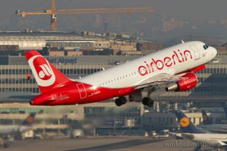 Airbus A319-112 der Air Berlin