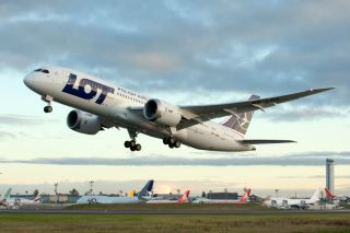 LOT Polish Airlines Boeing 787-8