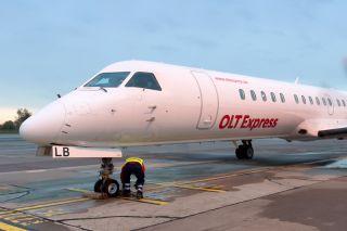 OLT Express Saab 2000