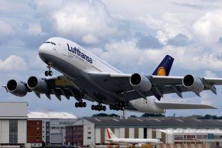 Lufthansa A380 Peking