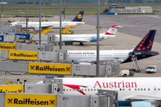 Vorfeld Flughafen Wien