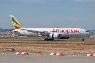 Etiopian Airlines Boeing 787
