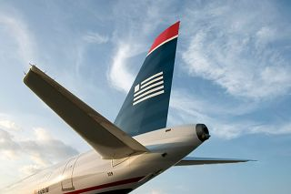 US Airways Tail
