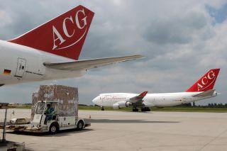 Boeing 747 der Air Cargo Germany