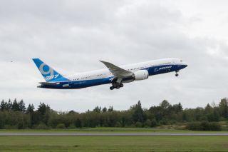 Erstflug der Boeing 787-9 am 17.09.2013