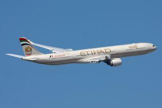 Etihad Airbus A340-600