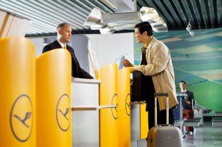 Lufthansa-Check-In