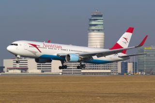 Austrian Boeing 767-300 Winglets