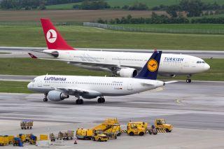 Turkish Airlines und Lufthansa