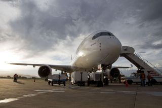 Airbus A350 in Bolivien