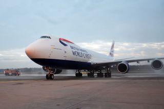 British Airways Cargo Boeing 747-8F