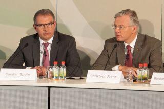 Carsten Spohr und Christoph Franz