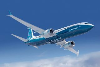 Boeing 737 MAX mit Dual Feather-Winglet