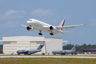 Boeing 787 B1 Testflug in Charleston