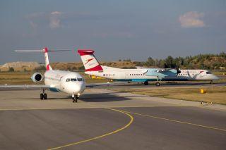 Austrian Fokker 100 und Q400