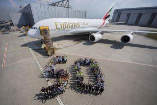 50. Airbus A380 von Emirates