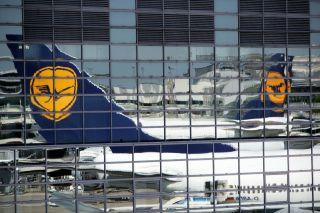 Lufthansa am Vorfeld Frankfurt