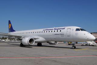 Embraer E190 von Lufthansa CityLine