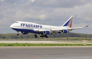 Boeing 747-400 der Transaero