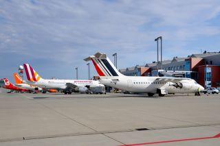 Vorfeld Flughafen Dresden