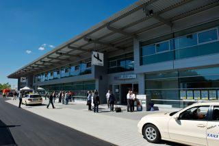 Neues Terminal Friedrichshafen