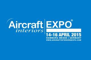 Logo der aircraft interiors expo 2015, © aircraft interiors expo