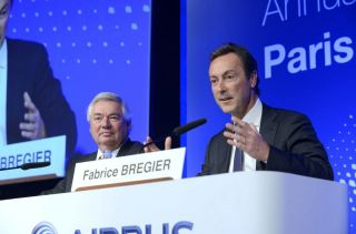 Airbus Top-Manager Fabrice Brégier und John Leahy