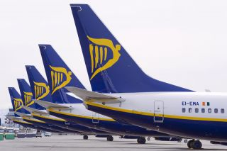 Ryanair Boeing 737 Tails