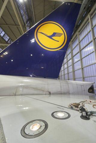 Logo Lights bei Lufthansa