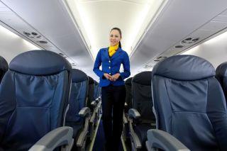 air astana Embraer E190 Interieur