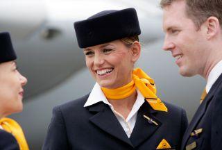 Kabinencrew der Lufthansa