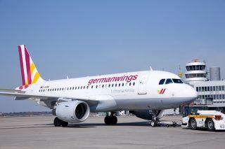 germanwings Airbus A319 am DUS