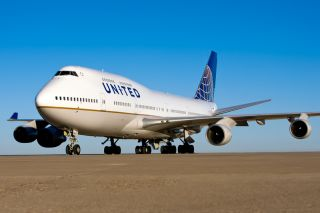 United Boeing 747-400