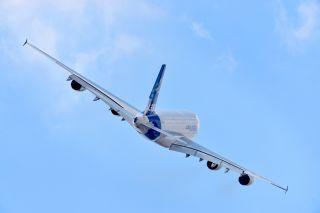 Airbus A380 auf der PAS 2015