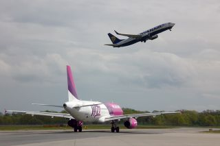 Low-Cost am Flughafen Lübeck