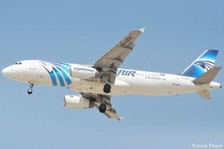 Airbus A320 der Egypt Air