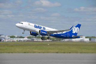 GoAir Airbus A320neo