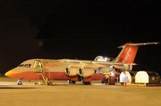 Mit großer Frachttür im Heck könnten ausgemusterte RJ100 eine neue Karriere starten