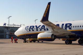 Ryanair in Nürnberg