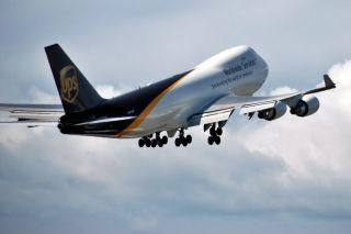 UPS Boeing 747-400