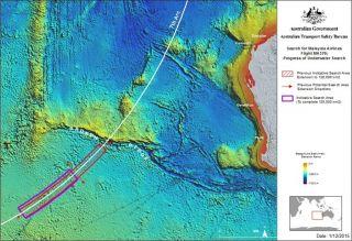 Australien geht davon aus, dass der verschollene Flug MH370 steil ins Meer gestürzt ist