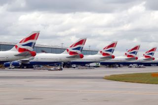BA 747 Flotte