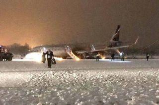 Aeroflot Airbus A321 in Kaliningrad
