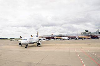 Lufthansa in Berlin-Tegel