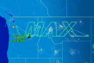 Die 737 MAX 8 flog eine