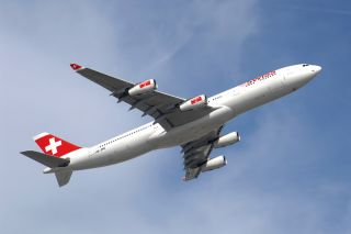 Swiss Airbus A340-300