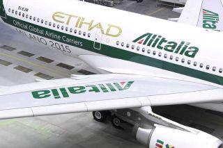 Etihad Airways stützt Alitalia